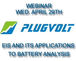 PlugVolt Webinar: EIS and its Applications to Battery Analysis