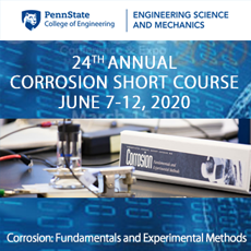 Penn State Annual Corrosion Short Course